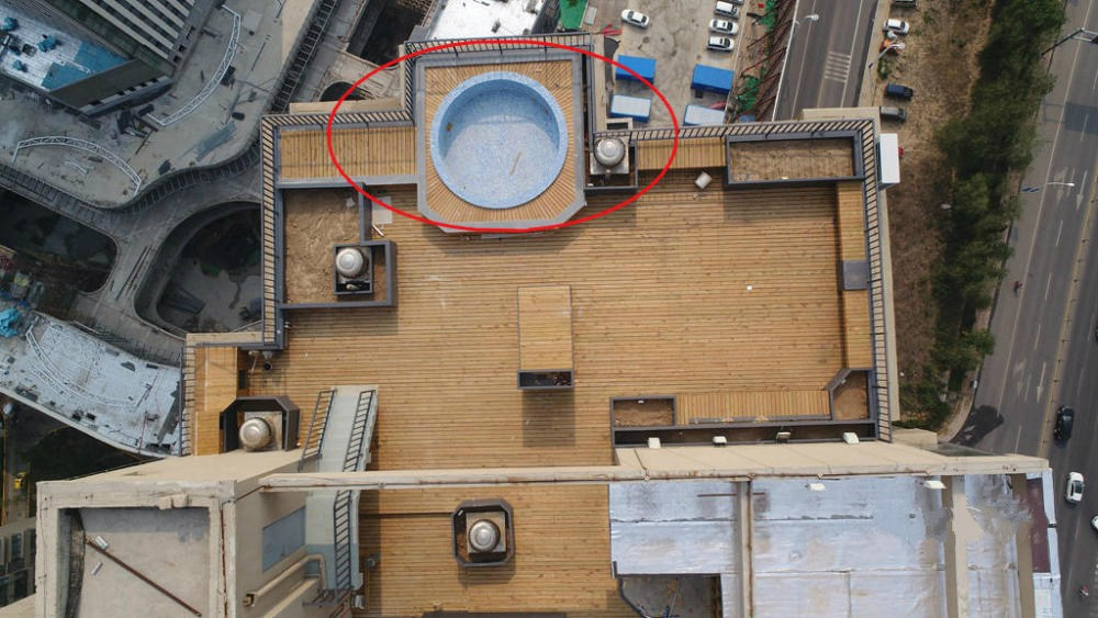 Pool On Top Of Building : Owner told to demolish illegally built swimming pool on
