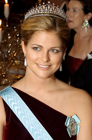 Swedish Princess Madeleine is seen in this 2007 file photo. She won a lawsuit against a German publisher, which was ordered to pay damages for fabricating stories about her.