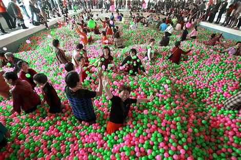 Having A Ball Shanghai Daily
