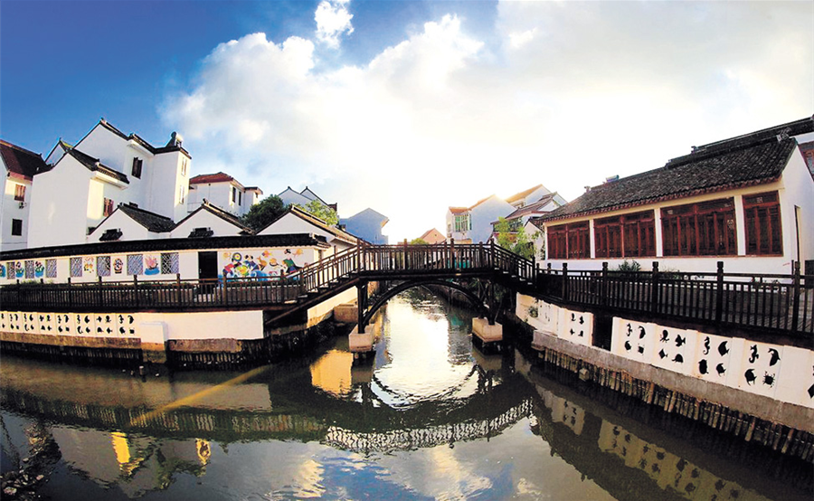 Old Time Fishing Village Lures Visitors In Fall Shanghai