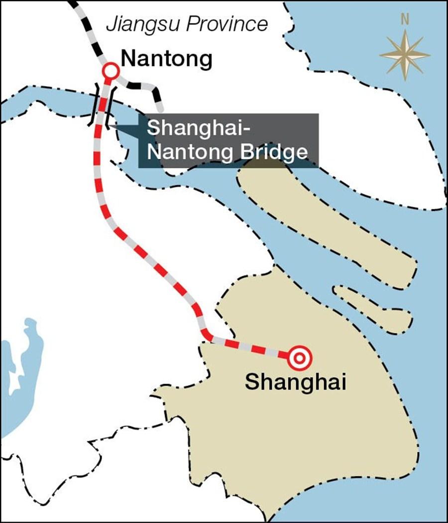 Resultado de imagem para Shanghai a Nantong