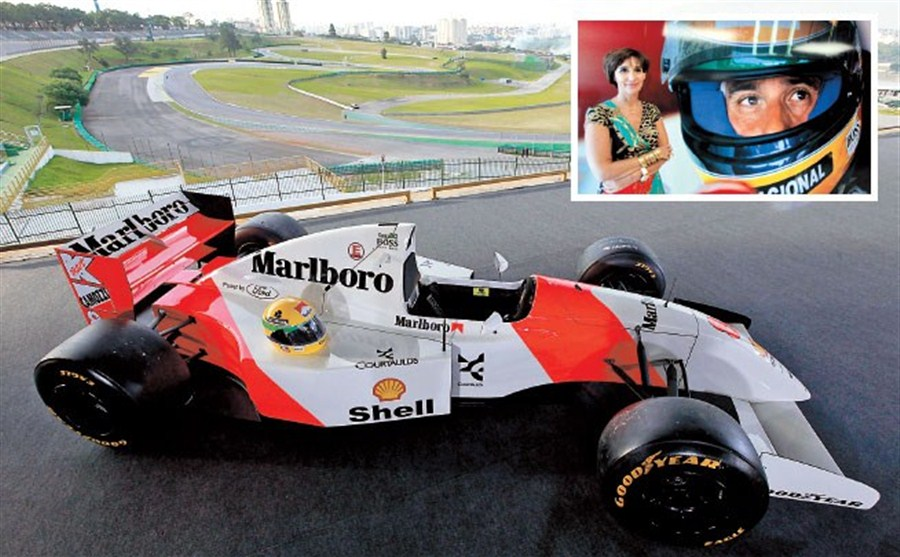 Thousands pay tributes to Senna | Shanghai Daily