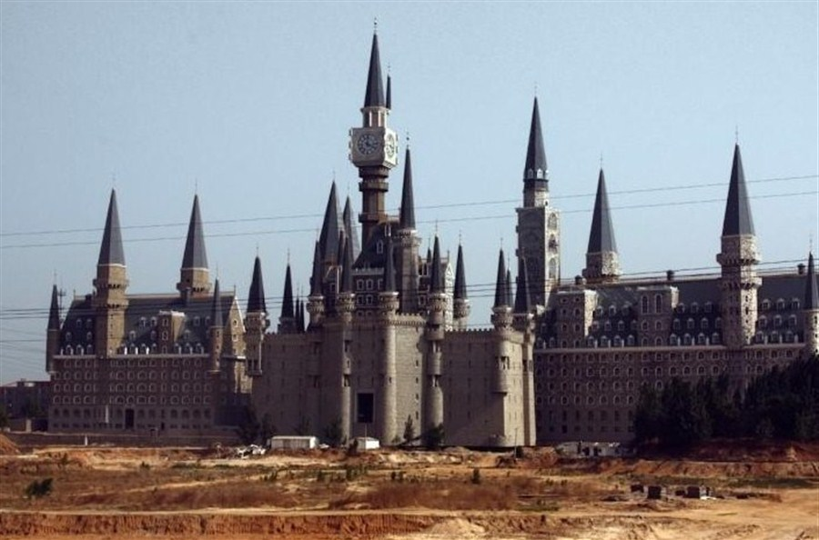 Hogwarts-like castle provides a little magic at northern ...