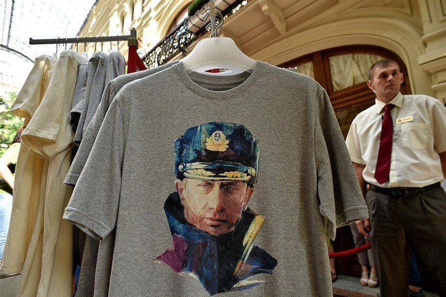 Putin T Shirts On Sale For Us 33 Shanghai Daily
