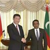 Xi calls for deepening mutually beneficial cooperation with Maldives