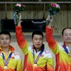 China wins men's 50m pistol team final at Incheon Asian Games