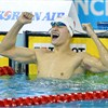 Sun Yang wins men's 400 free in Asian Games