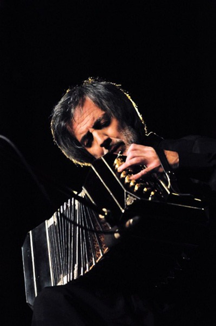 Tango Music Played With Bandoneon Is His Life Passion