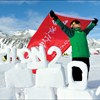South Pole race took 13 hours, frozen sweat