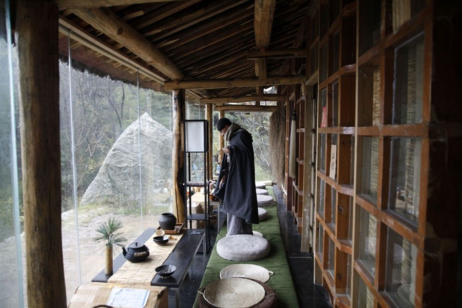 china�s mountain hermits seek inner peace shanghai daily