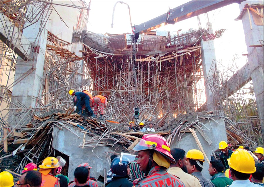 Factory collapse kills at least 5 workers shanghai daily for Cid special bureau 13 feb 2015