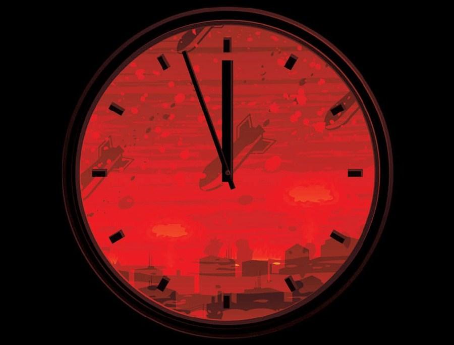 'Doomsday Clock' ticks down