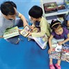 For children, reading books may be a springboard to a richer life