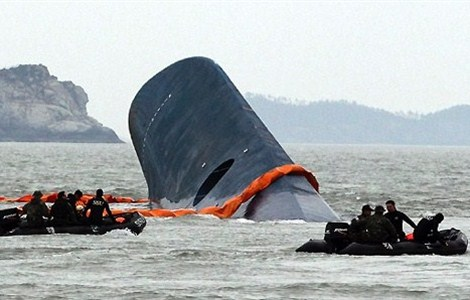 South Korea said Tuesday that it had agreed to a 85.1 billion won (US$73 million) deal with a Chinese-led consortium to salvage a ferry that sunk in an accident that killed more than 300 people in April last year.