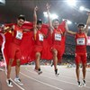 China's Fantastic 4 take historic silver in 4x100m