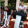 Russian leaders work out