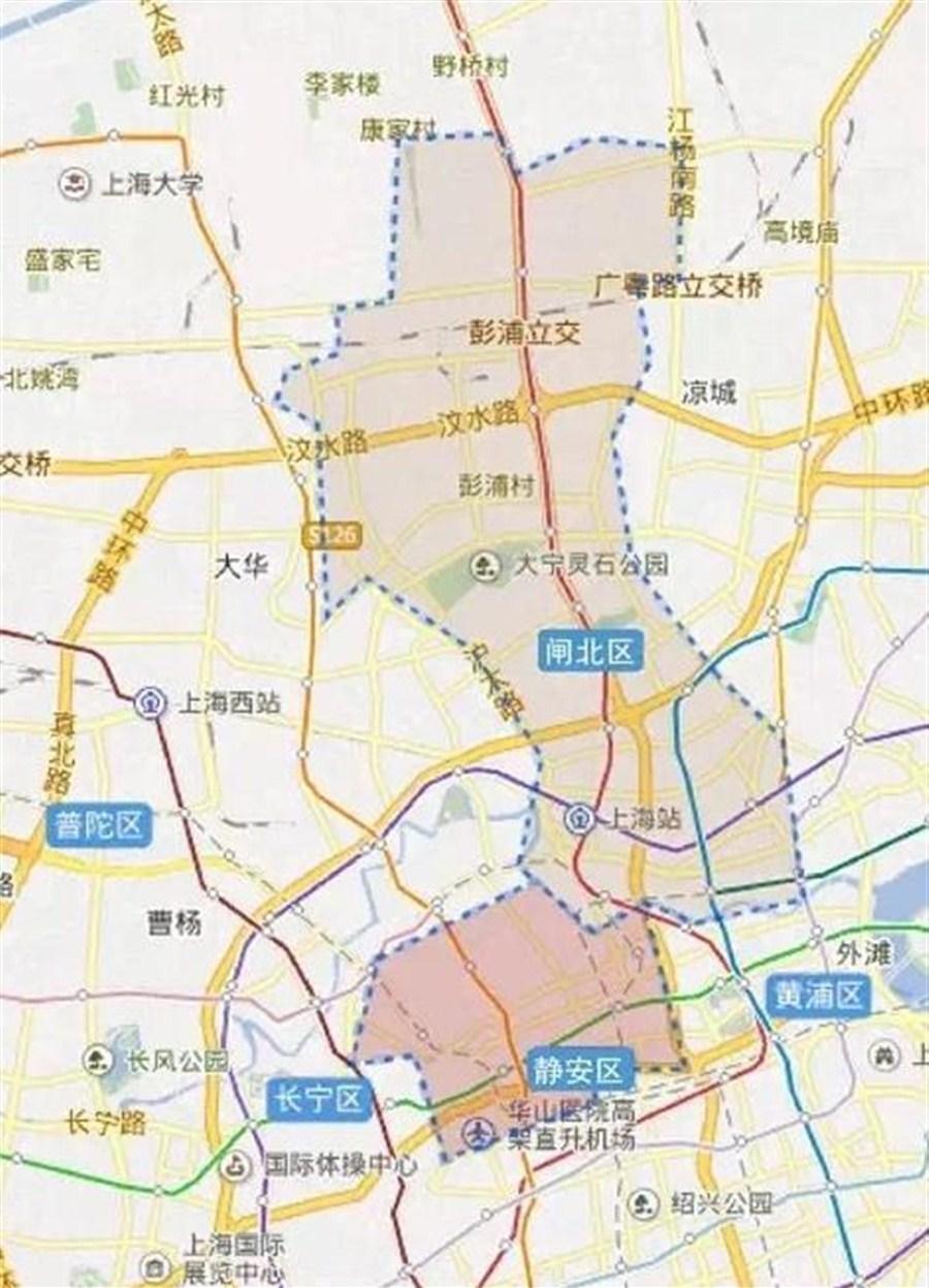 shanghai considers merging downtown jing u2019an with zhabei