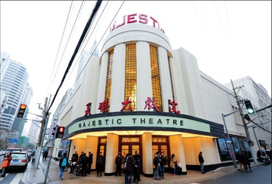 Majestic Theatre gets its original look