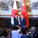 Chinese, Japanese FMs hold talks on relations