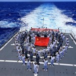 Chinese navy crosses int'l date line during RIMPAC drill