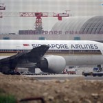 Singapore Airlines flight catches fire while making emergency landing