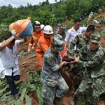 Death toll from SW China landslide rises to 20
