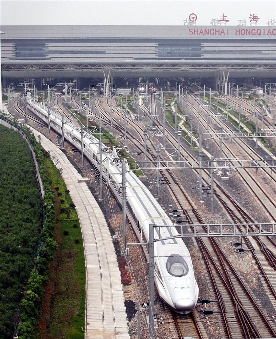 Beijing-Shanghai High-Speed Railway reaps 6.58b yuan   Shanghai Daily