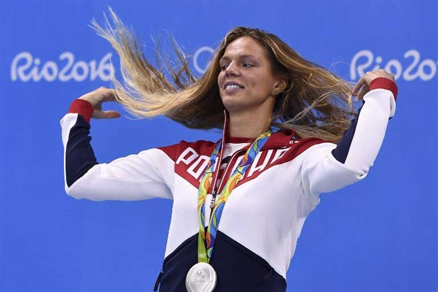 Image result for image of Yuliya Yefimova with swimming