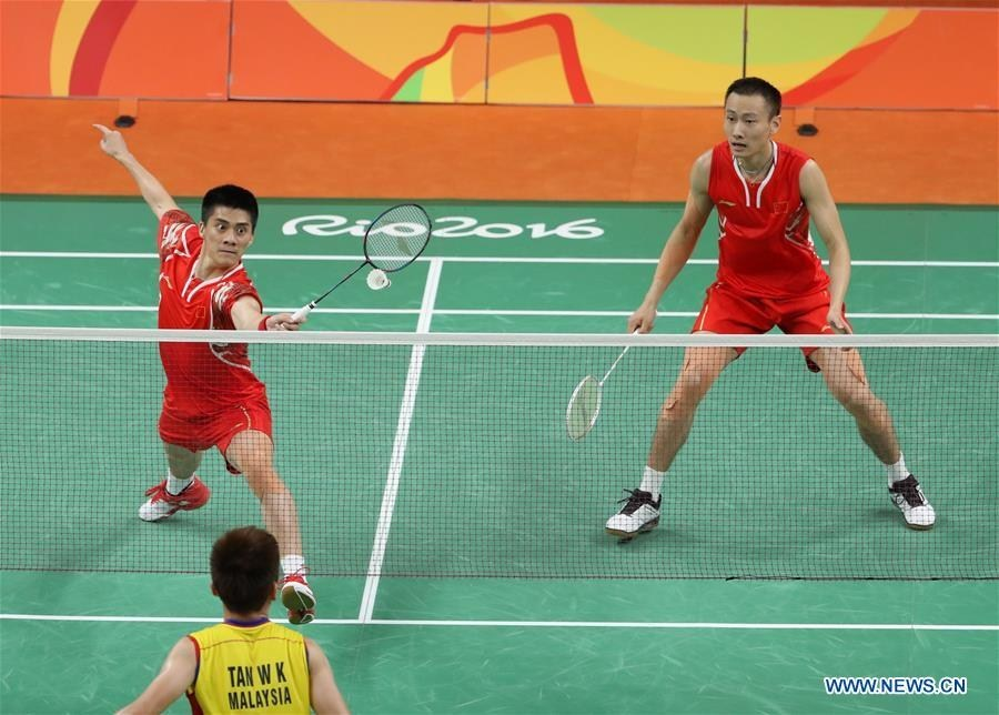 China Wins Gold Medal Of Men S Doubles Badminton At Rio