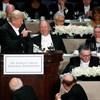 Trump jeered as charity dinner turns sour after jokes go too far
