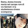 Body of missing Chinese art student found near train tracks in Rome