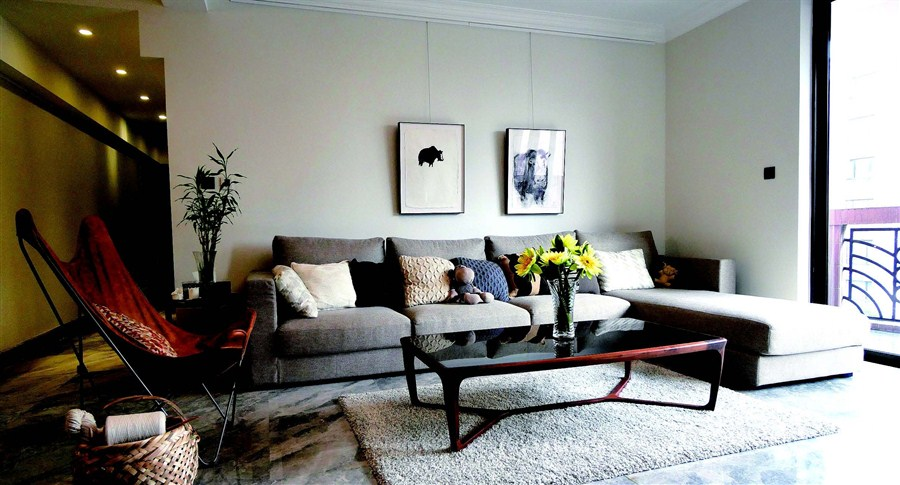 Cozy, Minimalist Family Apartment