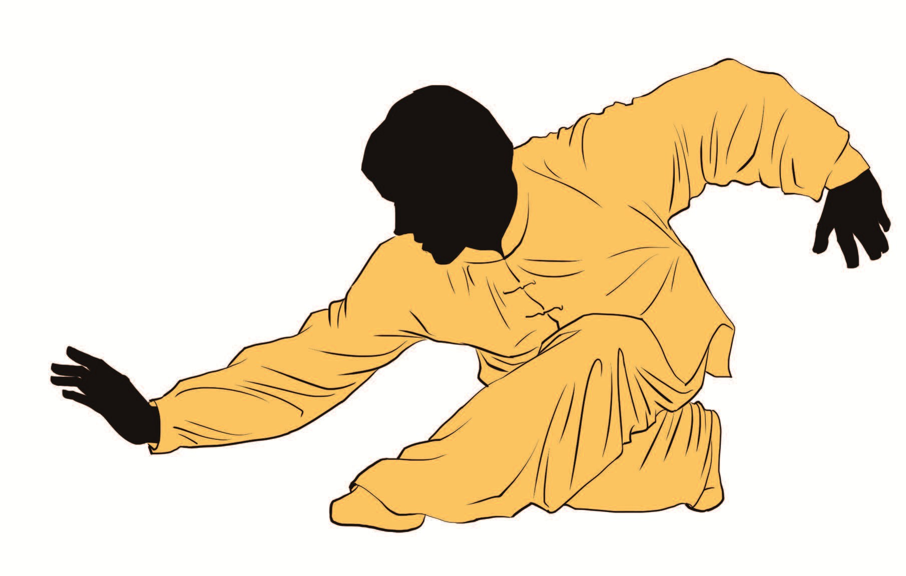 Below: Xingyiquan, which translates literally Shape-will Boxing, is the oldest of thee Wudang internal martial arts.