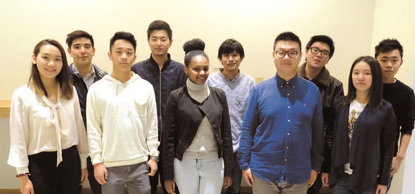 The NYU Shanghai team in the Hyperloop One Global Challenge.