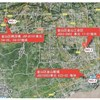 Three land parcels sold with little premium in Shanghai
