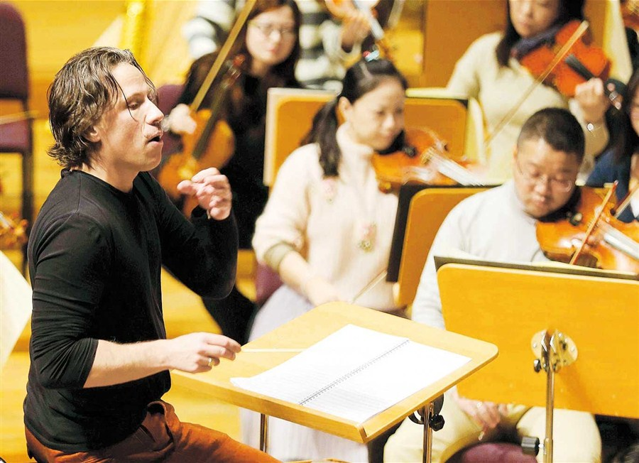 Estonian composer dedicates a piece to Shanghai"