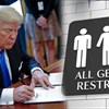 Trump revokes US transgender bathroom rules