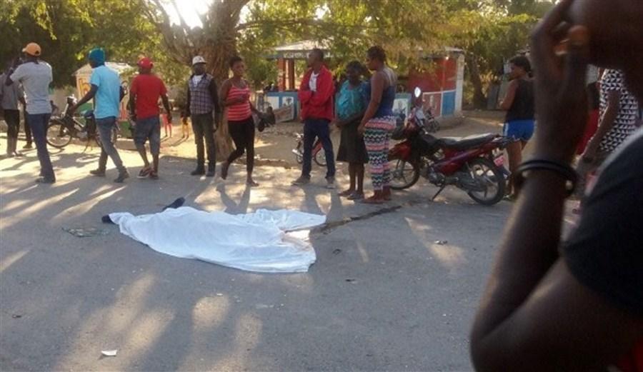 Haiti 'hit-and-run' bus mows down 38