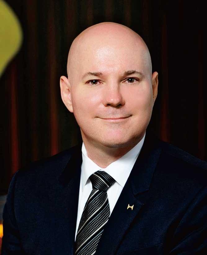 Joseph Zitnik , General manager of Hilton Shanghai Hongqiao