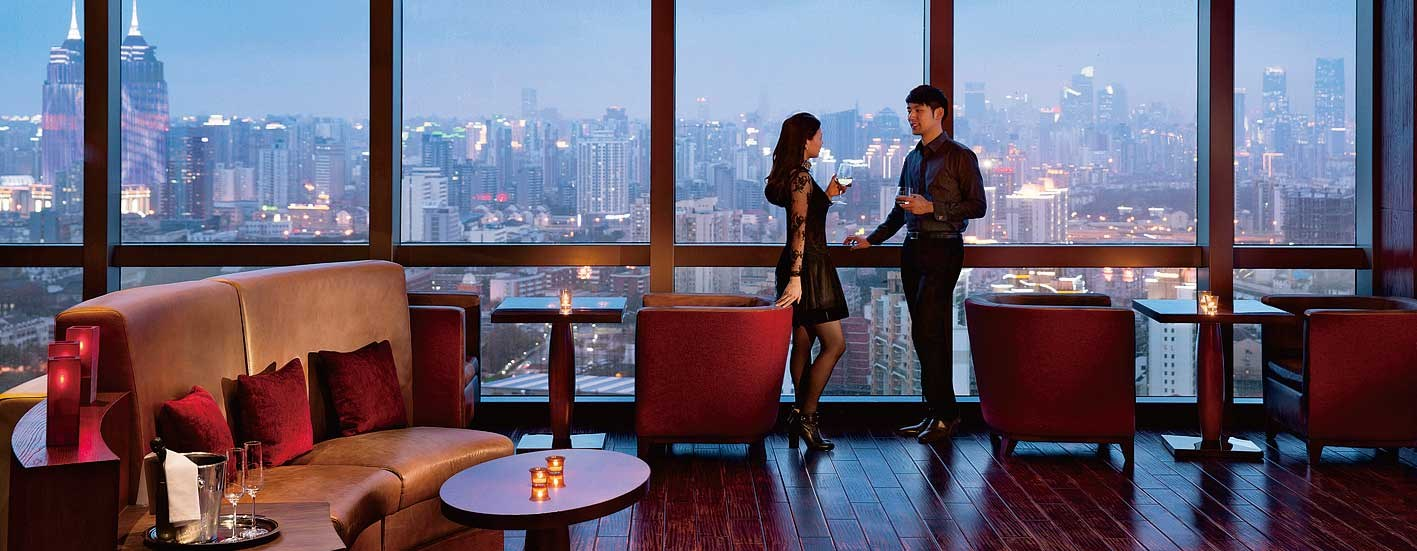 Panorama Bar, JW Marriott Hotel Shanghai Changfeng Park