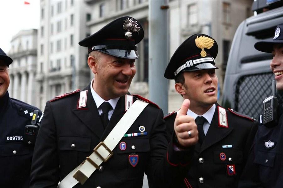 Italian Police Go On Patrol In Shanghai Shanghai Daily