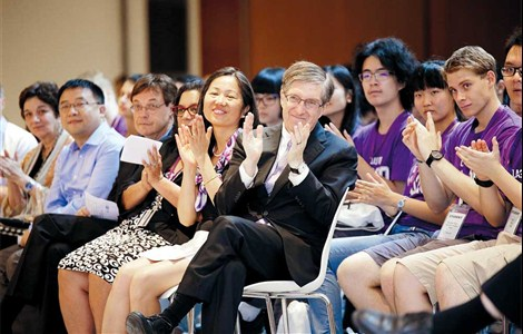 WHEN the first class of 300 students graduates later this month from New York University Shanghai, Vice Chancellor Jeffery Lehman can take pride in helping to get the first Sino-American university off