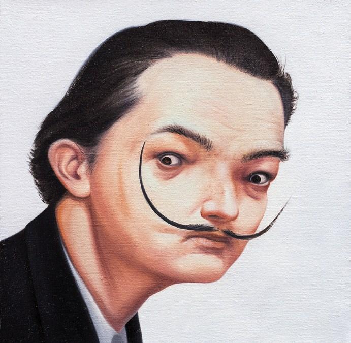 """""""Salvador Dali"""" by Lin Hairong"""