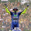 Rossi soars to victory at Assen as Vinales crashes