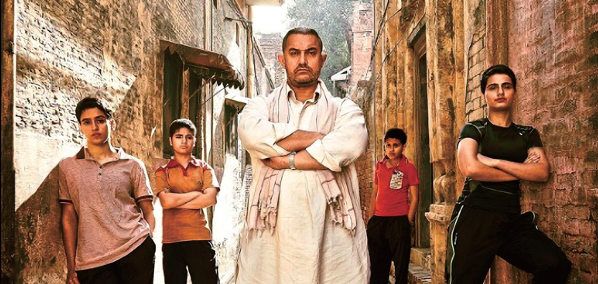 "Indian actor Aamir Khan's latest hit ""Dangal"""