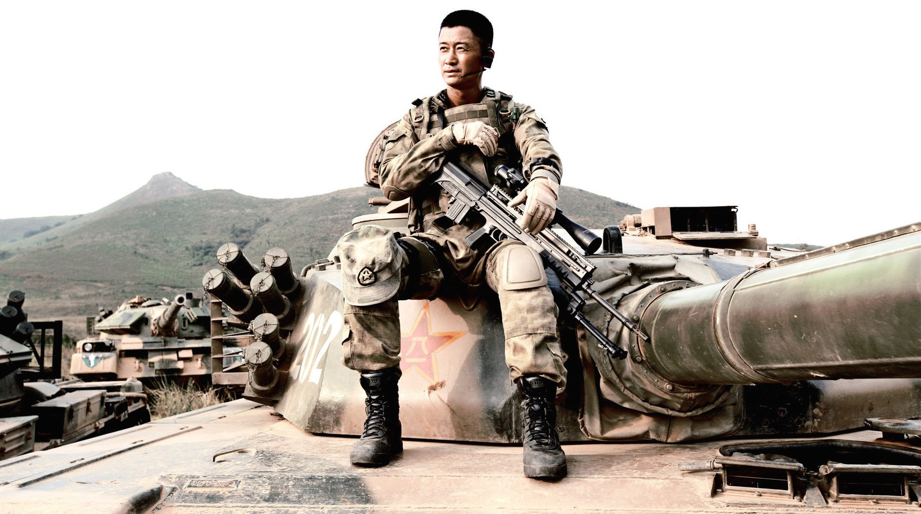 Action star Wu Jing has created the new image of a superhero who fights evildoers with fearless bravado.