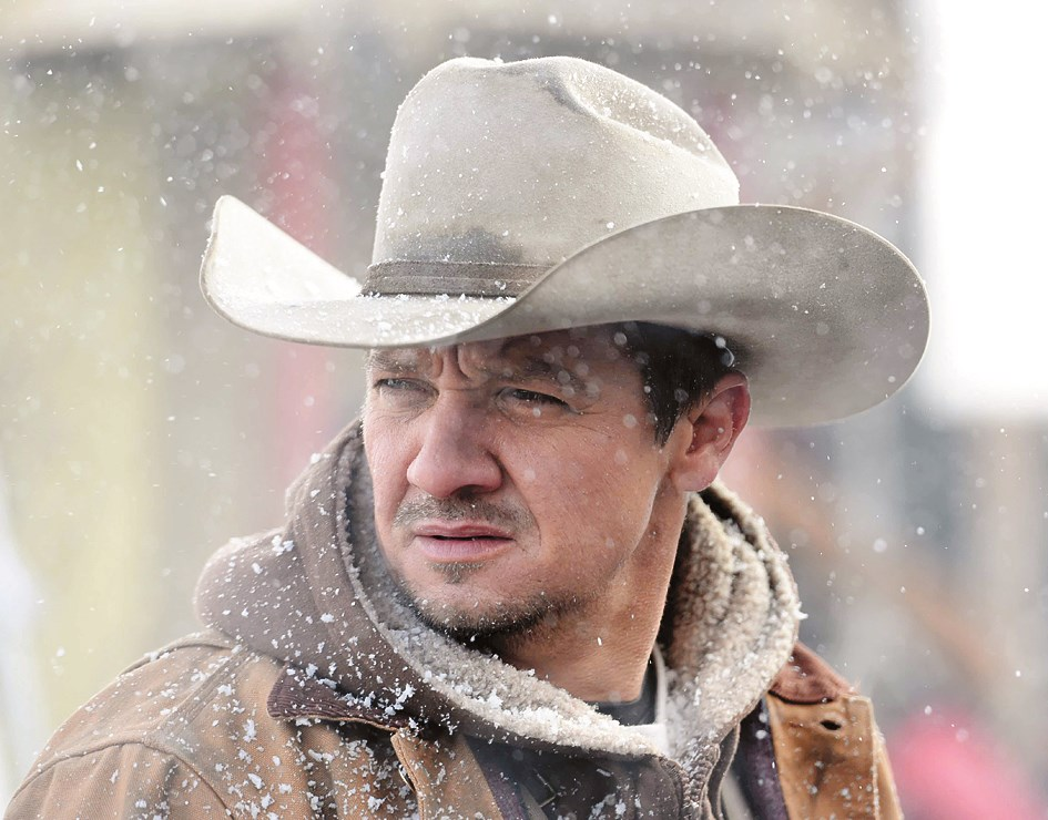 """Jeremy Renner plays a fish and wildlife agent in a Wyoming Native American reservation in the film """"Wind River."""""""