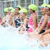 Young swimmers go mobile