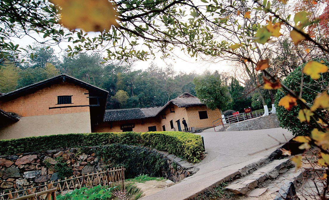 Late Chinese leader Mao Zedong's former residence in Shaoshan, Hunan Province. — Imaginechina
