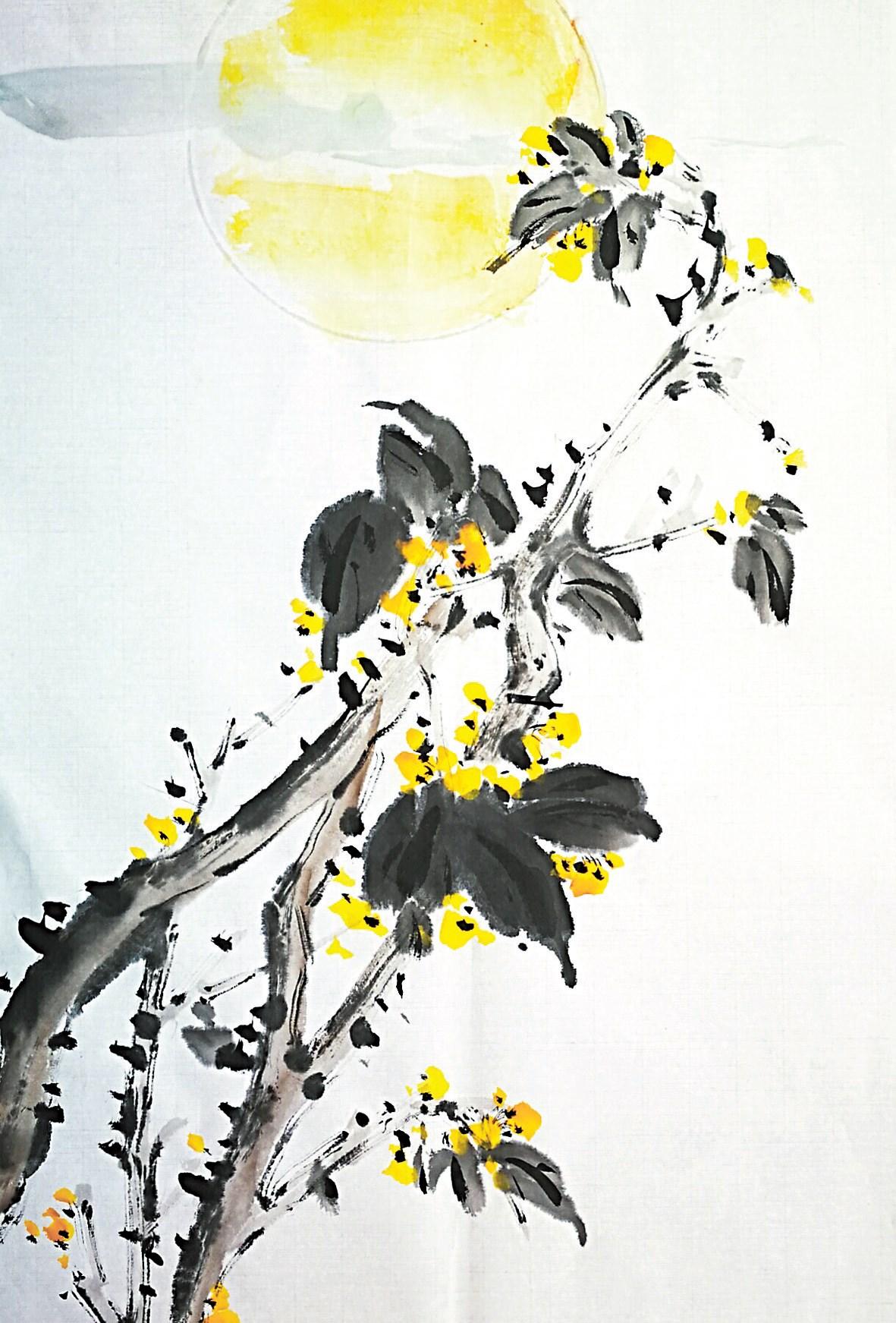 Brushwork by Zhang Ciyun